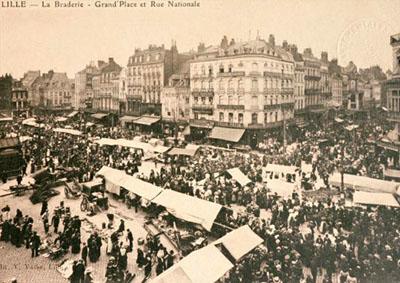 La braderie de Lille historique