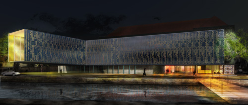 La Cité Internationale de la Dentelle et de la Mode à Calais
