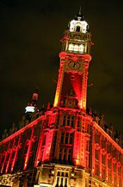Beffroi de la CCI Grand Lille - ©Maxime Dufour Photographies