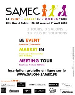 Le Samec à Lille Grand Palais du 30 mars au 1<sup>er</sup> avril 2010