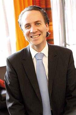 Jean Vianney Plays, président du Club hôtelier de Lille DR Maxime Dufour Photographies