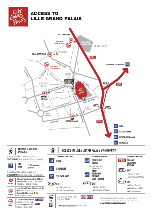 How To Go To Lille Lille Grand Palais