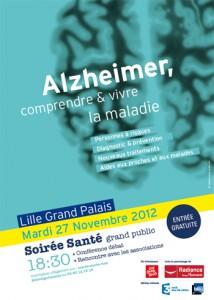 """Soirée Santé """"Alzheimer, comprendre et vivre la maladie"""""""