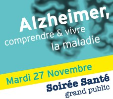 Soirée Santé Alzheimer