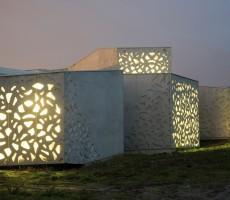 Extension du LAM ?construite par Manuelle Gautrand, octobre 2008.? Photo : M. Lerouge / LMCU. ?© Manuelle Gautrand Architecture