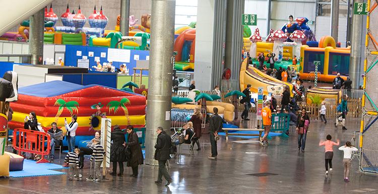 Kids parc d barque lille grand palais for Tarif parking salon de l agriculture