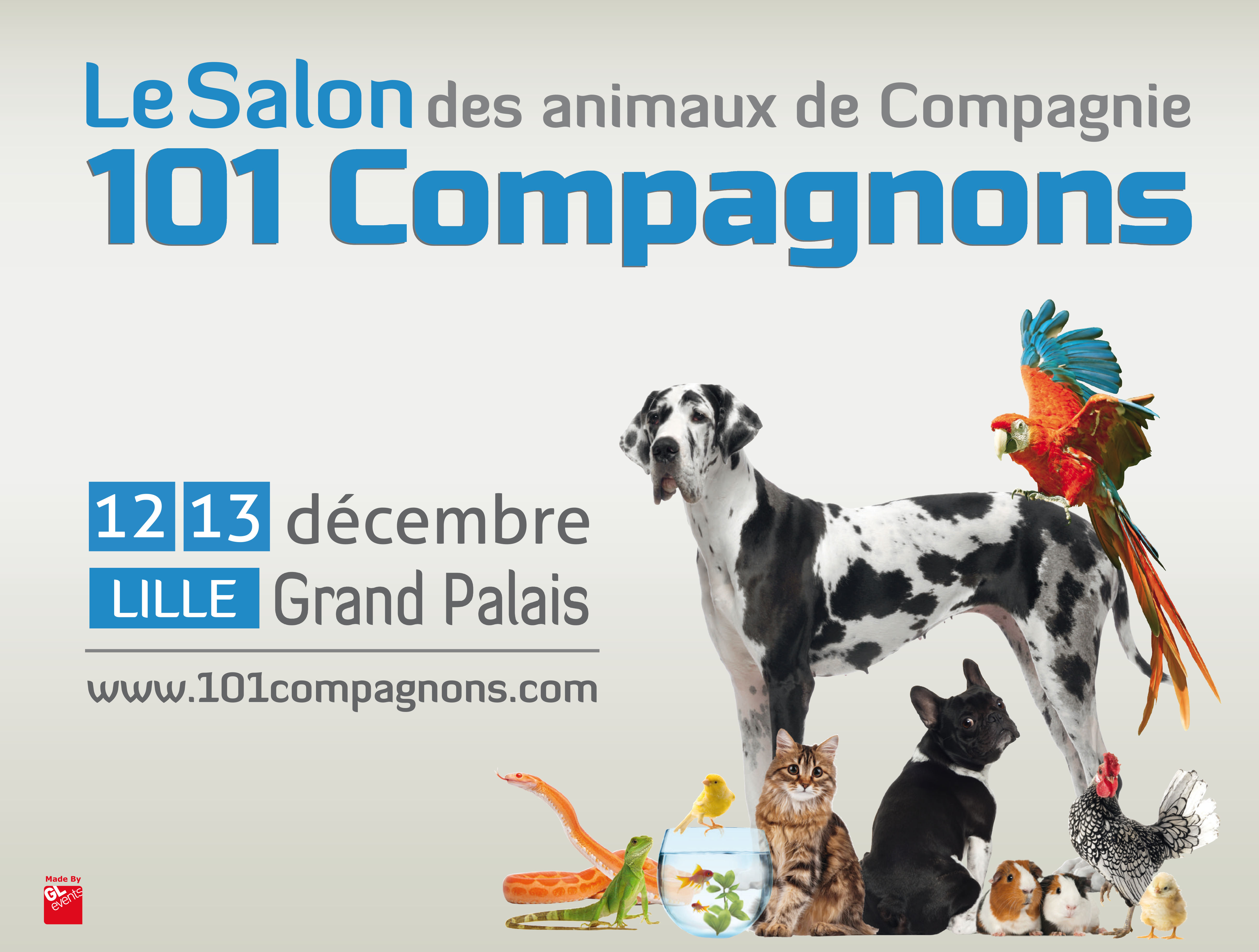101 compagnons lille grand palais lille grand palais for Salon de l habitat lille grand palais