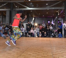 Hip hop sur kids parc