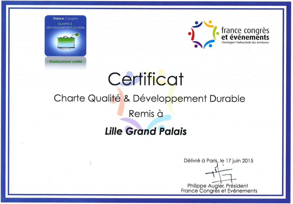 France Congrès Diplome
