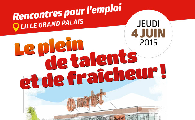 Salon Carrefour Market