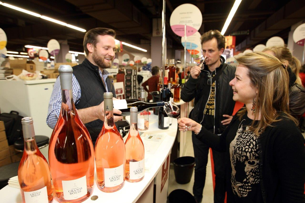 Les vignerons ind pendants la rencontre des passionn s for Salon du vin champerret