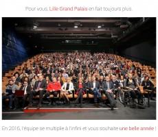 Voeux 2016 - Lille Grand Palais