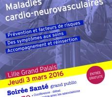 Soirée Santé ARS 3 mars Lille Grand Palais