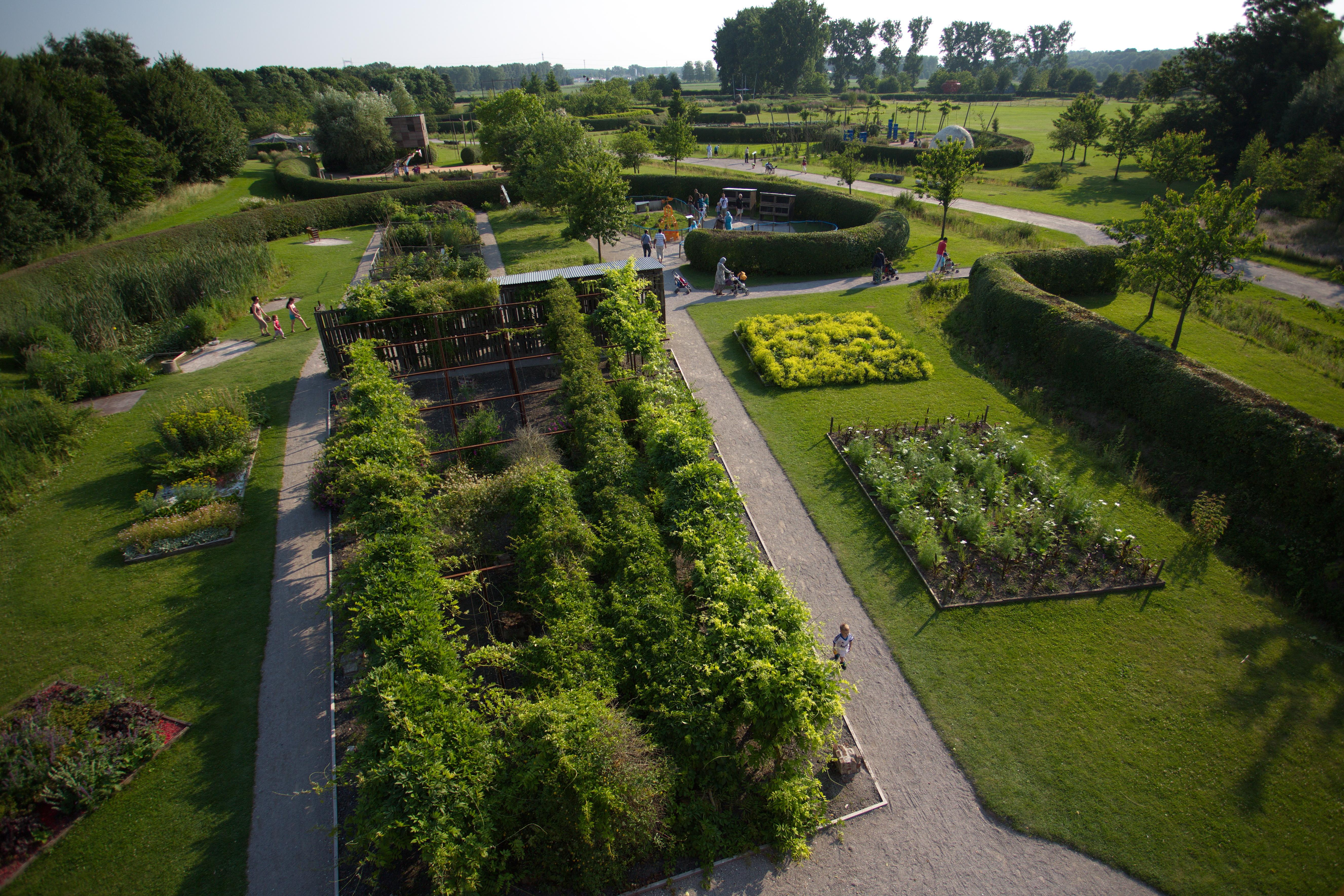 Un mois un lieu le parc mosa c - Jardins contemporains ...