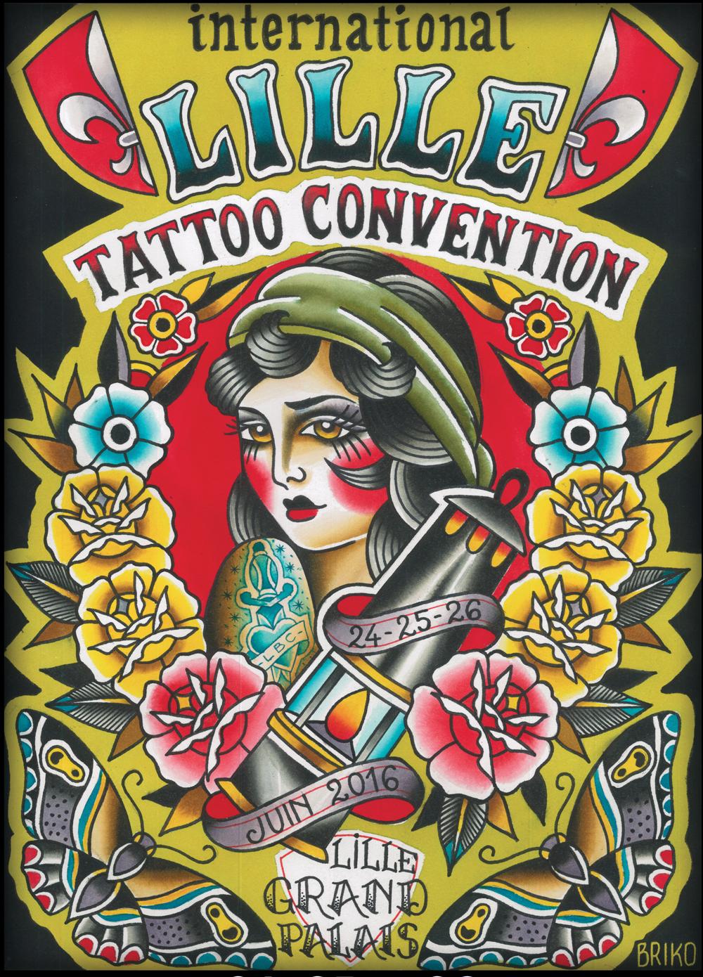 International Lille Tattoo Convention Une Premiere
