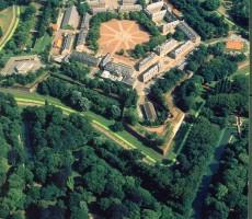 Vue aérienne Citadelle © OTC Lille
