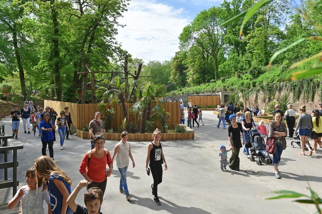 Entrée du Zoo de Lille © Anaïs Gadeau - Ville de Lille