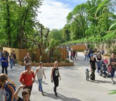 Entrée du Zoo de Lille © Anaïs Gadeau - Ville de Lille - Blog A la Une