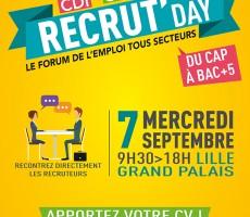 La Voix l'Étudiant - Recrut Day, le forum de l'emploi tous secteurs