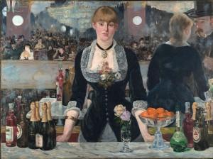 Un Bar aux Folies Bergère, l'original d'Edouard Manet.