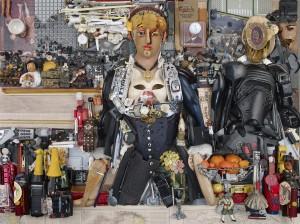 Un bar aux Folies Bergère, anamorphose de Bernard Pras.