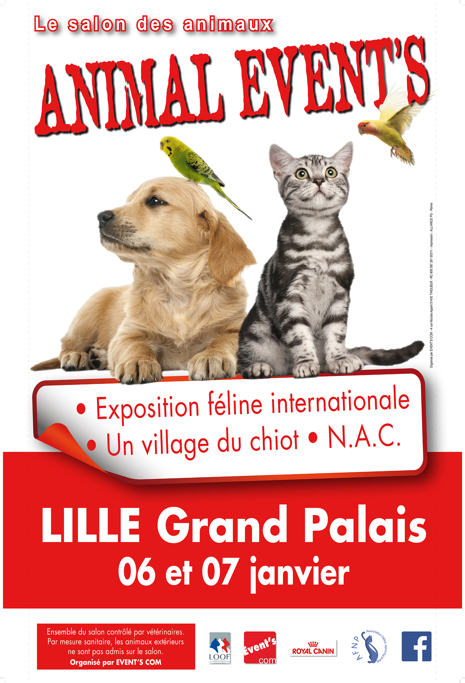 animal event 39 s lille grand palais