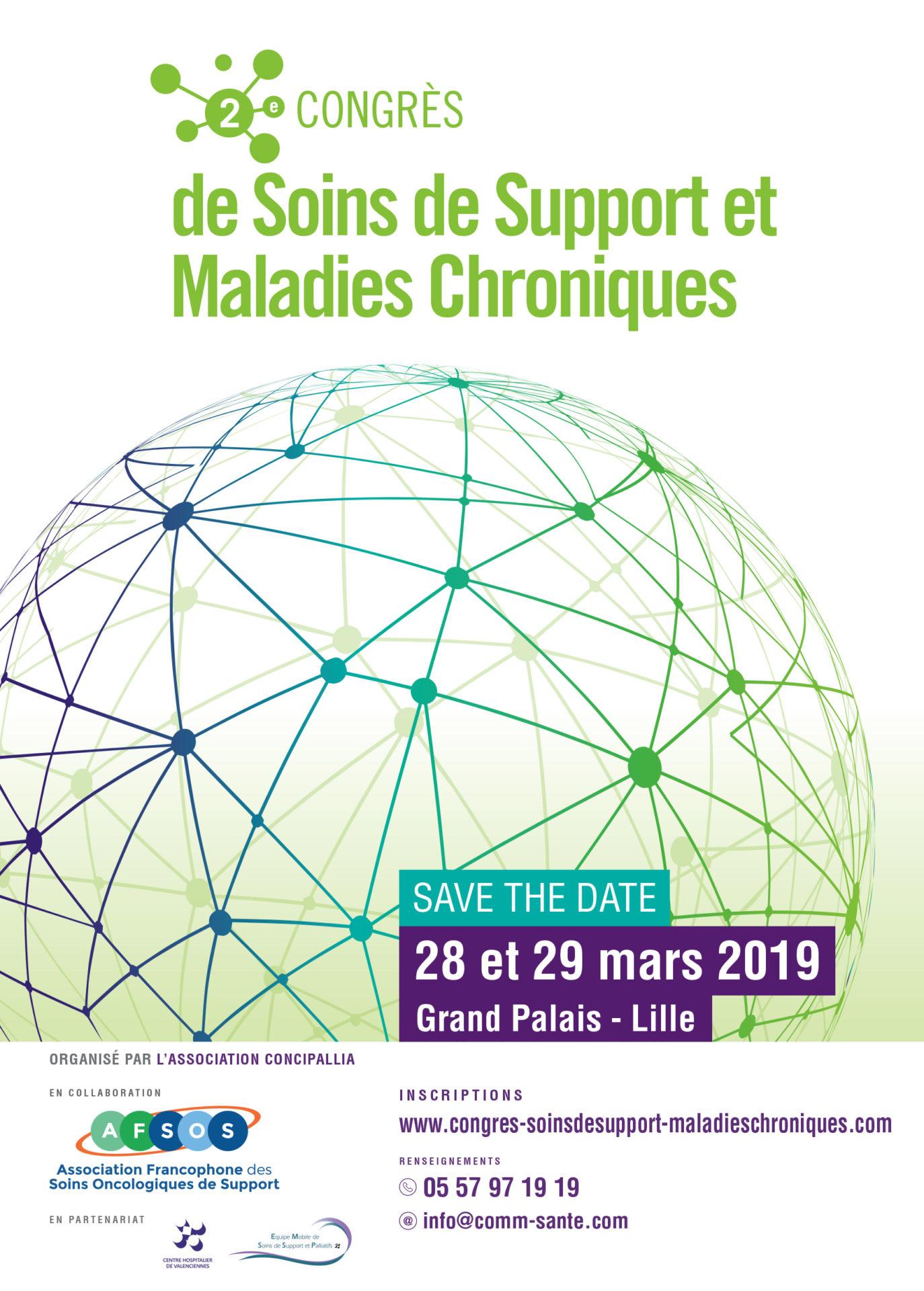 2e Congrès de Soins de Support et Maladies Chroniques