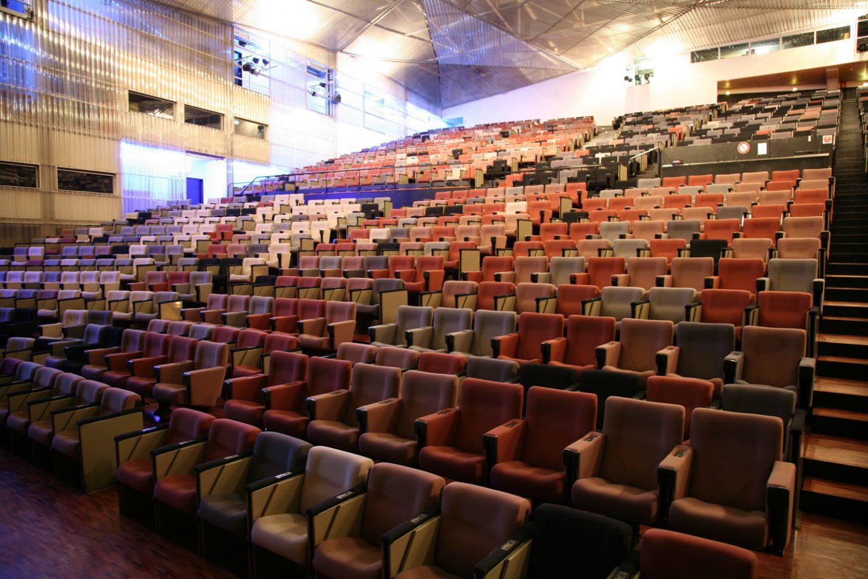 4 auditoriums